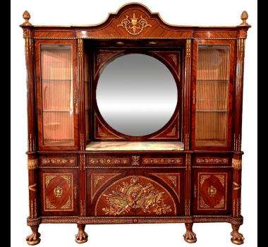 Buffet Clássico Imperial Marchetada Luis XV Linha Classic Decor