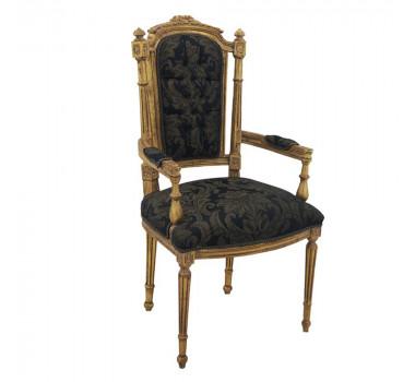 poltrona-em-madeira-dourado-preta-florido-115x58x58cm