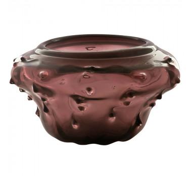 Vaso em Murano Roxo 26 x 39 Cm