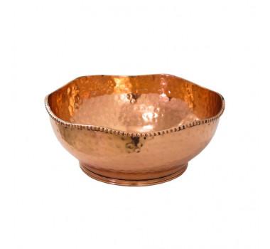 centro-de-mesa-em-metal-rose-8x21x21cm