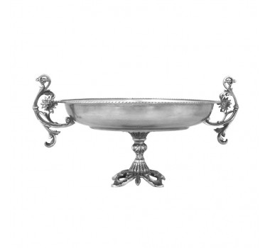 centro-de-mesa-decorativo-em-metal-prateado-25x48x38cm