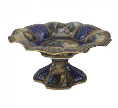centro-de-mesa-em-porcelana-azul-e-dourado-20x40cm