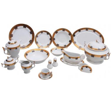aparelho-de-jantar-com-desenho-decorativo-dourado-e-preta-114-pecas