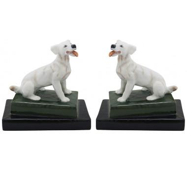 par-de-cachorro-branco-em-porcelana-18x11x17cm