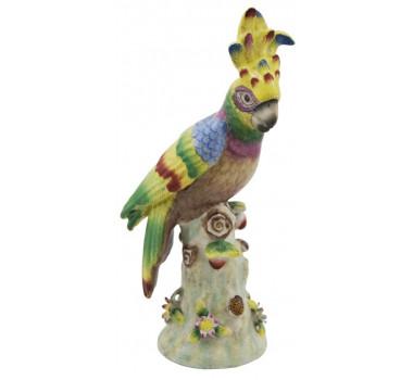par-de-passaro-colorido-em-porcelana-30x10x12cm