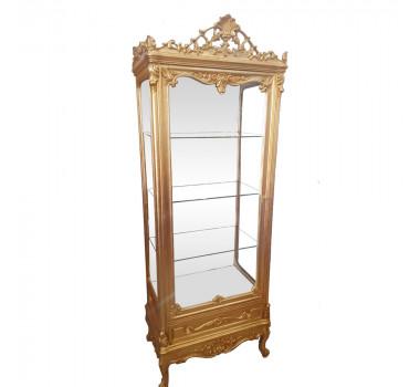 cristaleira-luis-xv-dourada-com-espelho-79x33x53cm