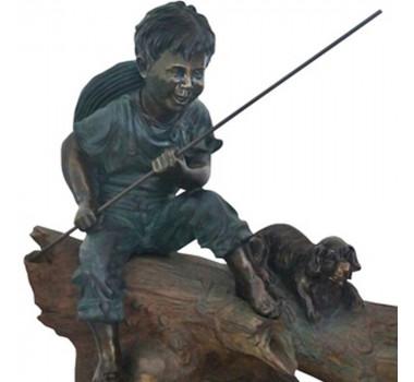 fonte-em-resina-menino-e-cachorro-80x45-cm
