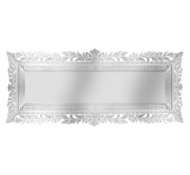 Espelho Veneziano Grande com Corte Bisotê Detalhes Vasados