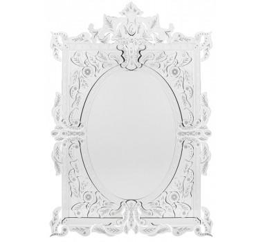 Espelho Veneziano Quadrado com Peças Sobrepostas