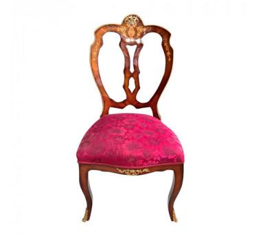 cadeira-classica-com-estofado-rosa-e-detalhes-em-bronze-100x50x50cm