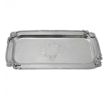 bandeja-prata-produzida-em-metal-com-desenhos-decorativos-em-relevo-2x31x15cm