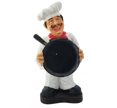 Escultura Decorativa Chef De Cozinha Har