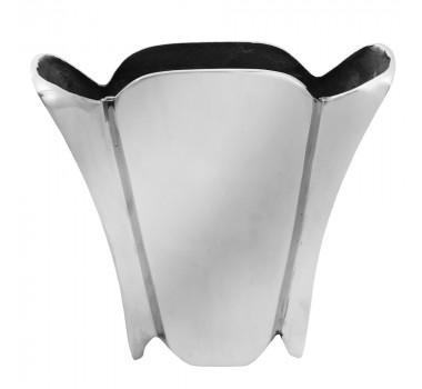 Vaso Em Aluminio Niquelado 28x30