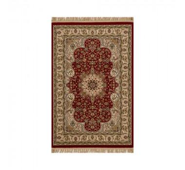 tapete-persa-tabriz-bege-com-detalhes-em-vermelho-100x150cm