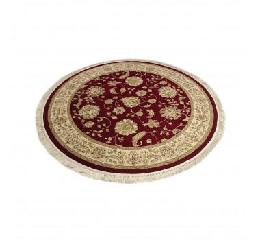 tapete-persa-redondo-vermelho-e-bege-250x250cm