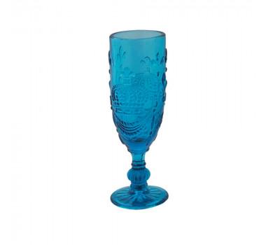 jogo-de-taças-flute-em-cristal-azul-6-peças-18x6cm