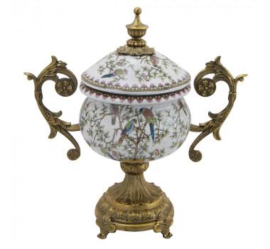 potiche-em-porcelana-com-pintura-floral-colorida-e-apliques-arabescos-em-bronze-20x31cm