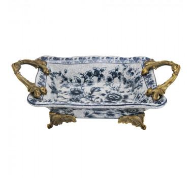 bandeja-em-porcelana-com-detalhes-floridos-em-azul-e-ornamentos-em-dourado-9x27x16cm