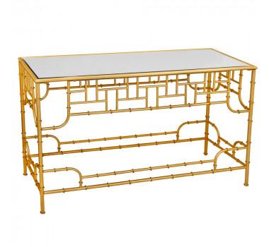 aparador-em-metal-dourado-com-tampa-base-espelho-72x120x41cm