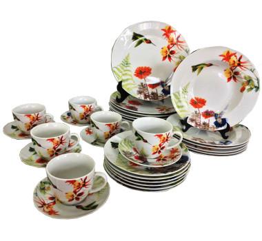 aparelho-de-jantar-em-porcelana-birds-com-detalhes-florido-jogo-com-30-pecas