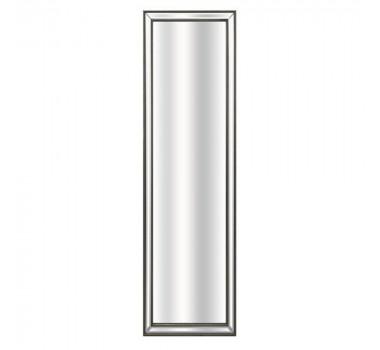 Espelho Decorativo Retangular Moldura Prata em Resina