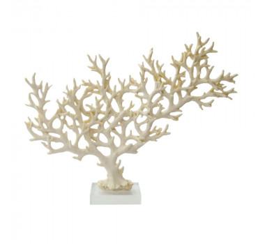 escultura-de-coral-em-resina-branca-e-base-em-acrilico-25x32x08cm