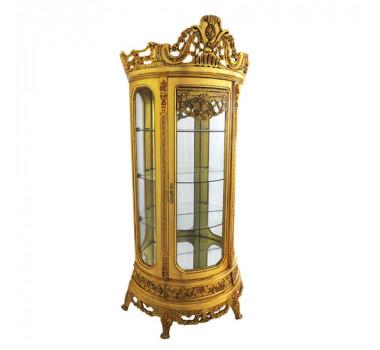 vitrine-em-madeira-dourada-214x106x45cm-7317