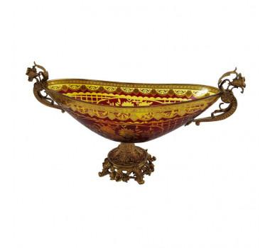 centro-de-mesa-em-cristal-vinho-e-dourado-25x48x17cm