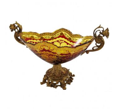 centro-de-mesa-em-cristal-vinho-e-dourado-24x39x17cm