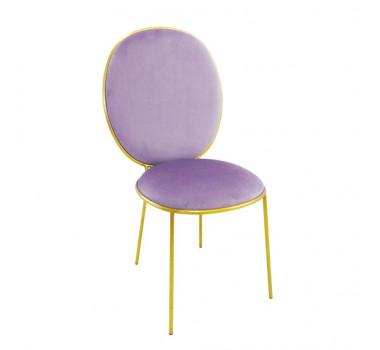 cadeira-com-estofado-em-veludo-rosa-53x97x61cm