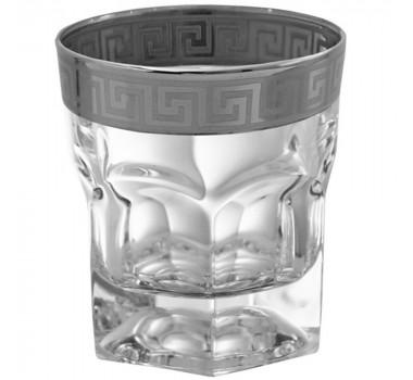 06 Copos Whisky Versac Prata