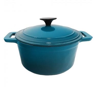 panela-de-ferro-esmaltada-em-azul-turquesa-27x21cm