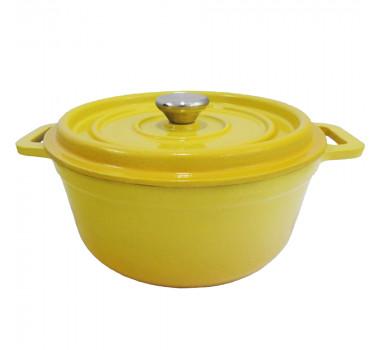 panela-de-ferro-esmaltada-amarelo-31x24cm