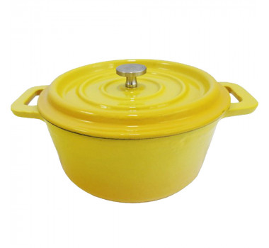 Panela Amarelo Esmaltada