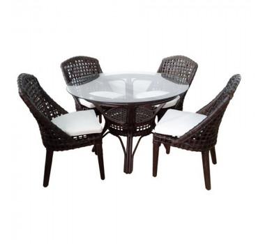 conjunto-de-mesa-com-4-poltronas-monaco-em-rattan-escuro