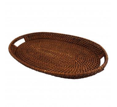 bandeja-decorativa-marrom-com-alcas-produzida-em-rattan-7x55x36cm