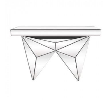 Aparador Espelhado Estilo Moderno Linha Glass Abstract - 80x36x120cm