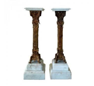coluna-marmore-carrara-estrutura-em-bronze