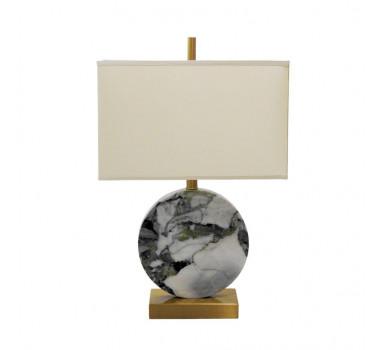 abajur-com-base-em-metal-dourado-e-marmore-branco-flower-com-cupula-61×40x23cm