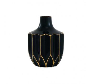 vaso-em-ceramica-decorativo-preto-e-dourado