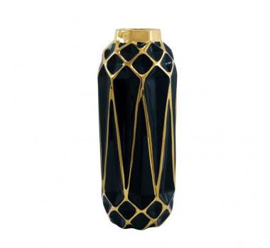 vaso-decorativo-preto-com-detalhes-em-dourado-35x14x14cm
