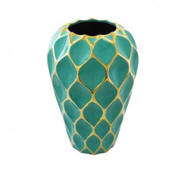 vaso-decorativo-grande-em-porcelana-verde-e-dourado