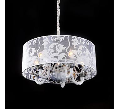 Lustre Clássico em Cristal 6 Lâmpadas 55 x 60 cm