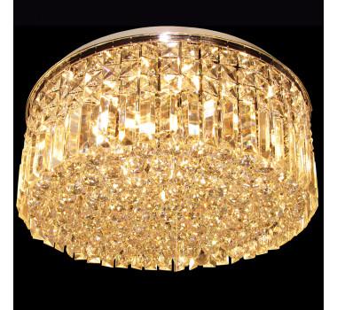 Lustre Clássico em Cristal 20 Lâmpadas 30 x 60 cm