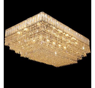 Lustre Clássico em Cristal 34 x 40 x 78 cm