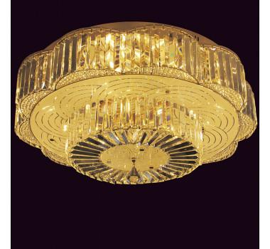 Lustre Clássico em Cristal 30 x 80 cm