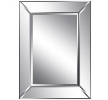 Espelho Retangular Grande De Peças Sobrepostas Espelhadas