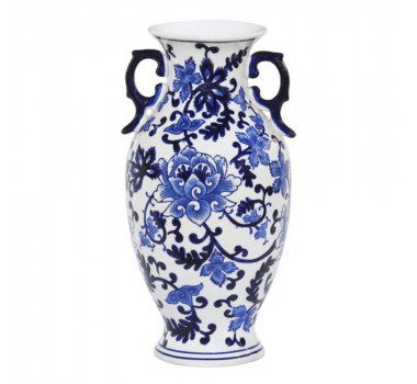 Ânfora em Cerâmica Estilo Borrão 36 cm x 21 cm
