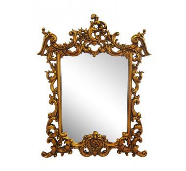 Espelho Folheado a Ouro 150 cm x 114 cm