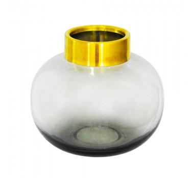 vaso-decorativo-em-vidro-na-cor-cinza-com-detalhes-em-dourado-20x20cm